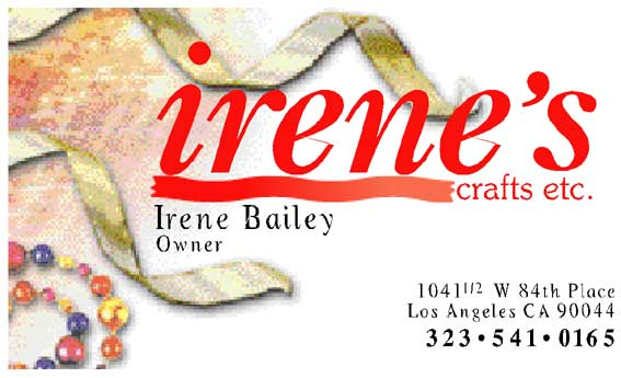 Irenes Crafts